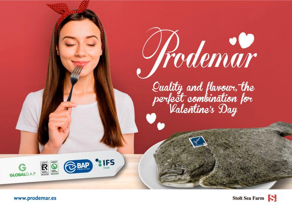 Prodemar lanza una campaña publicitaria por San Valentín