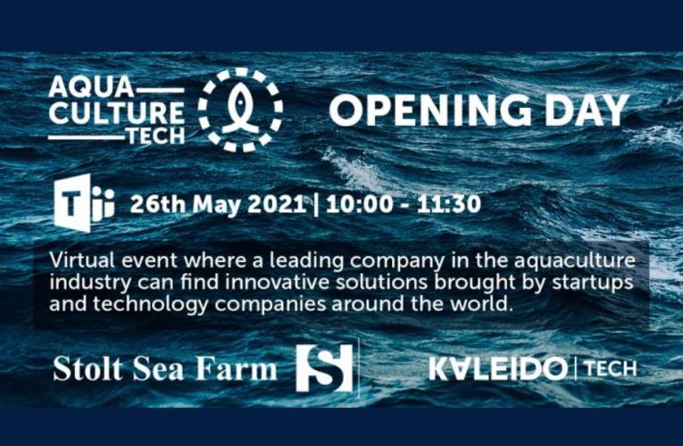 Jornada de inauguración de Aquaculture Tech: 26 de mayo de 2021. 10:00-11:40 h